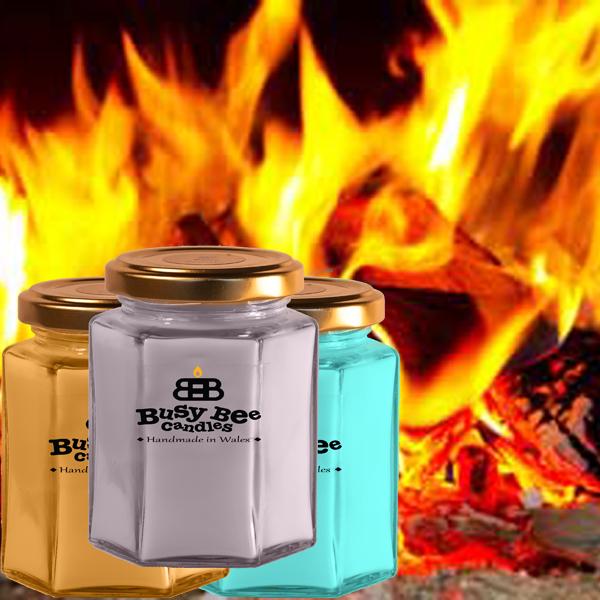 Crackling Fire Medium Candle