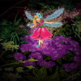 Fairy Wishes Tea Light