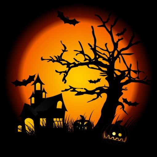 Hallows Eve Large Candle