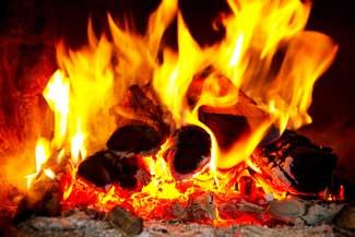 Crackling Fire Wax Tart
