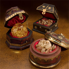 Frankincense and Myrrh Wax Tarts