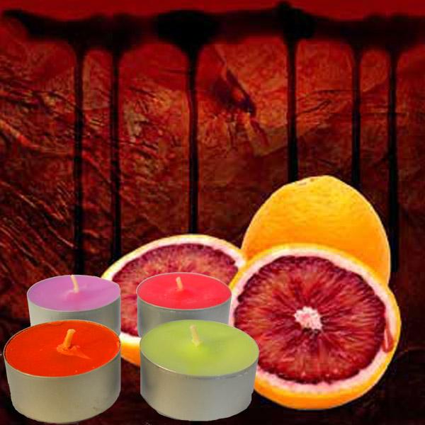 Blood Orange Tea Light