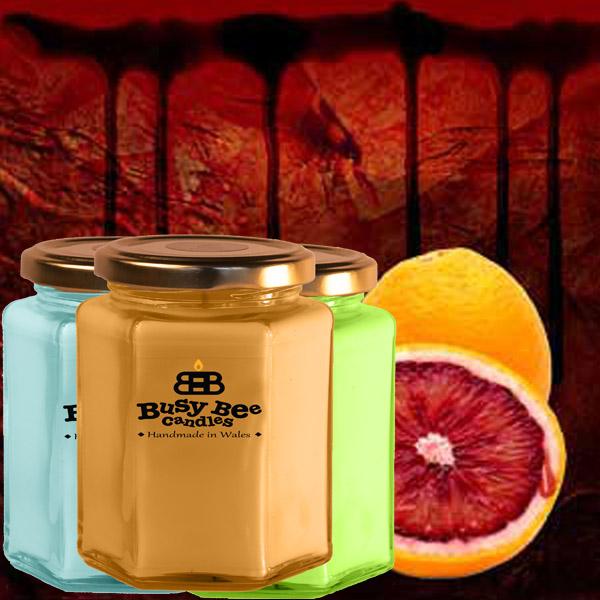 Blood Orange Large Candle