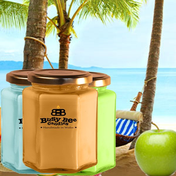 Beach Bum Large Candle