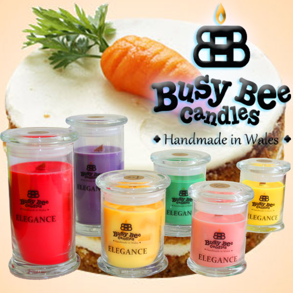 Carrot Cake Small Elegance Candle