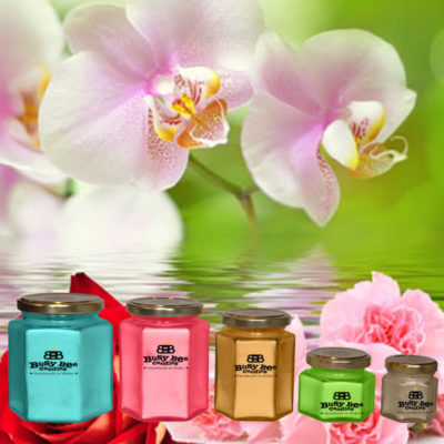 April Showers Candles