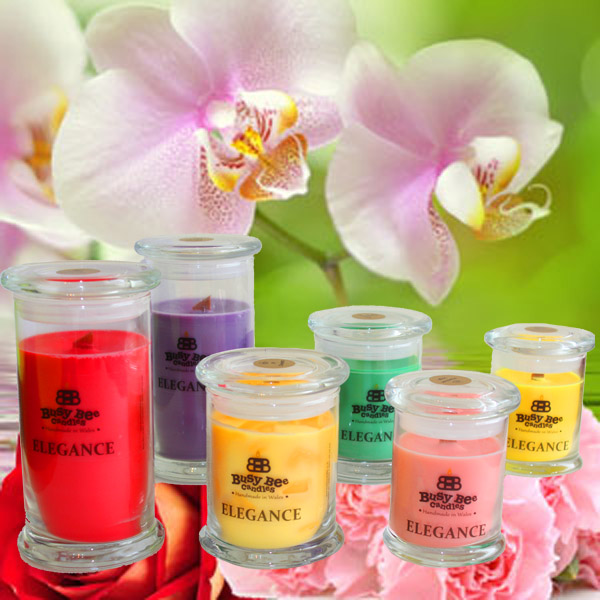 April Showers Small Elegance Candle