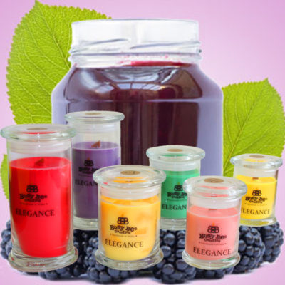Bramble Jelly Large Elegance Scented Candle