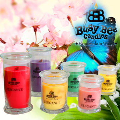 Butterfly Hugs Medium Elegance Candle