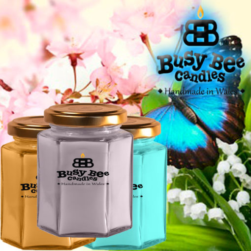 Butterfly Hugs Medium Candle