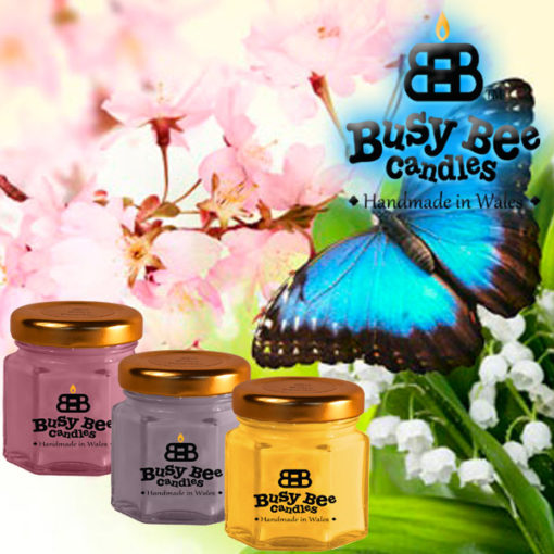 Butterfly Hugs Mini Me Candle