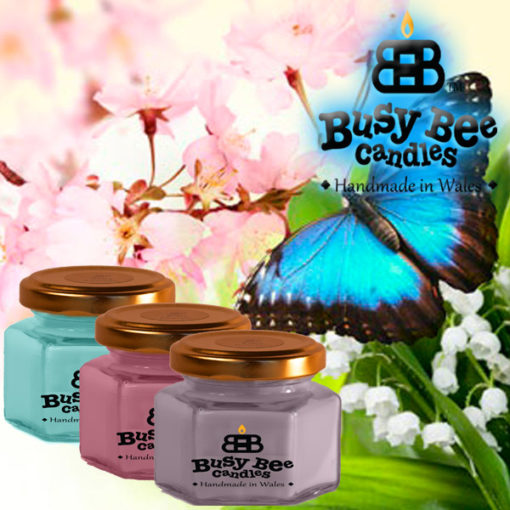 Butterfly Hugs Small Candle