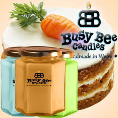 Carrot Cake Large Candle