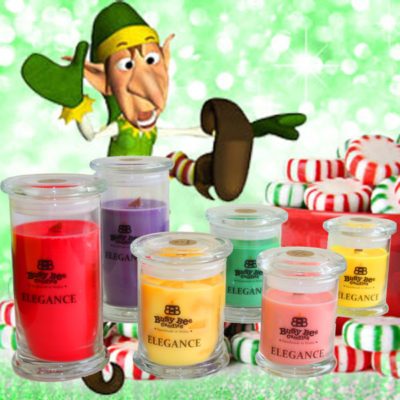 Elf Crazy Medium Elegance Candle