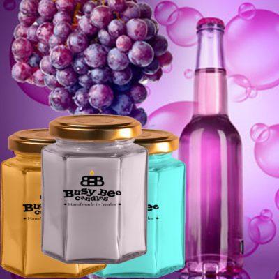 Grape Bubbles Medium Scented Candle