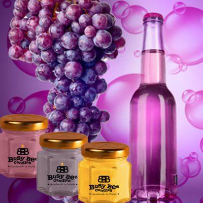 Grape Bubbles Mini Me Scented Candle