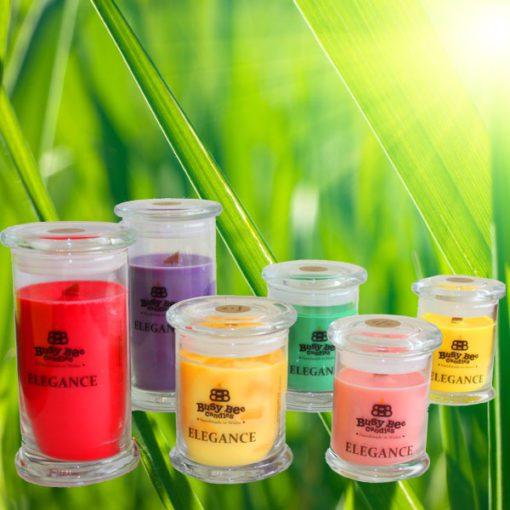 Green Green Grass (Glaswellt Gwyrdd Gwyrdd) Small Elegance Candle