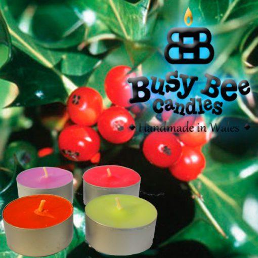 Hollyberry Tea Light
