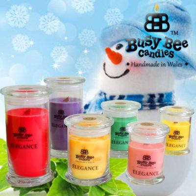 Jack Frost Elegance Candles