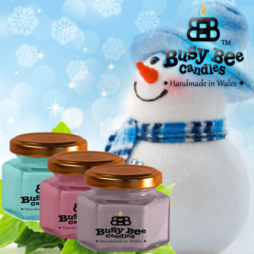 Jack Frost Small Candle