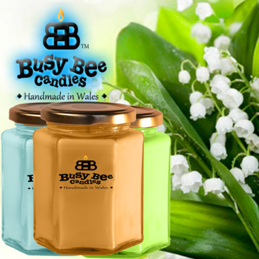 Lily Of The Valley Large Candle