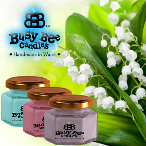 Lily Of The Valley Small Candle