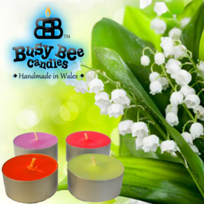 Lily Of The Valley Tea Lights