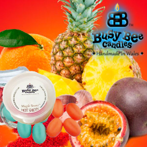 Pineapple Spice Hot Shots
