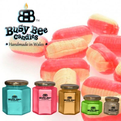 Rhubarb And Custard Scented Candles