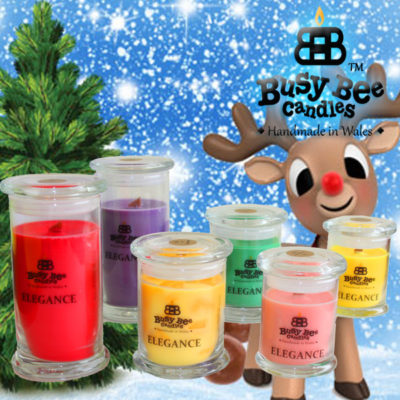 Rudolph's Trail Large Elegance Candle