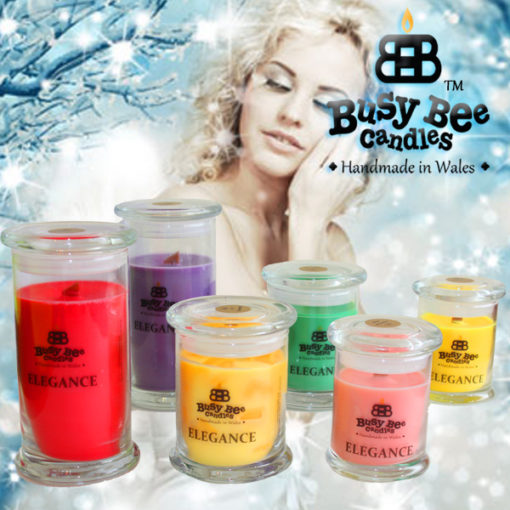 Snow Angel Small Elegance Candle