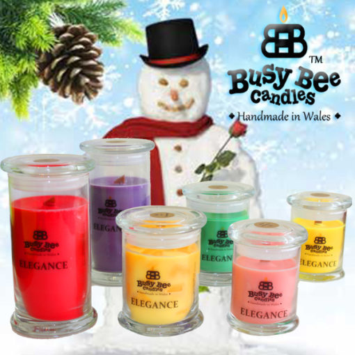 Snow Balls Elegance Candles