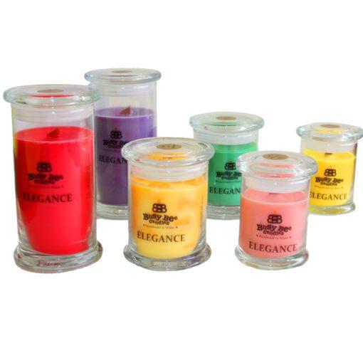 Black Cherry Elegance Candles