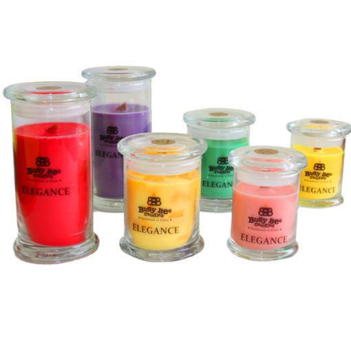 Midnight Peppermint Elegance Candles