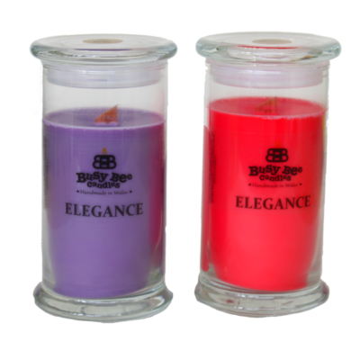 Midnight Peppermint Large Elegance Candle
