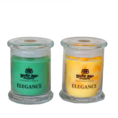 Coconut Breeze Medium Elegance Candle
