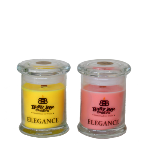 Coconut Rose Small Elegance Candle