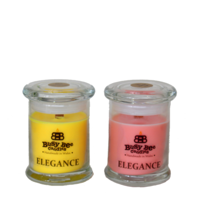 Midnight Peppermint Small Elegance Candle