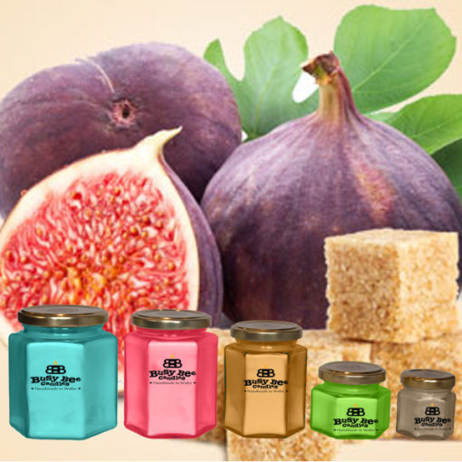 Sugared Figs Small Candle