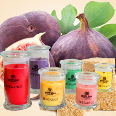 Sugared Figs Small Elegance Candle