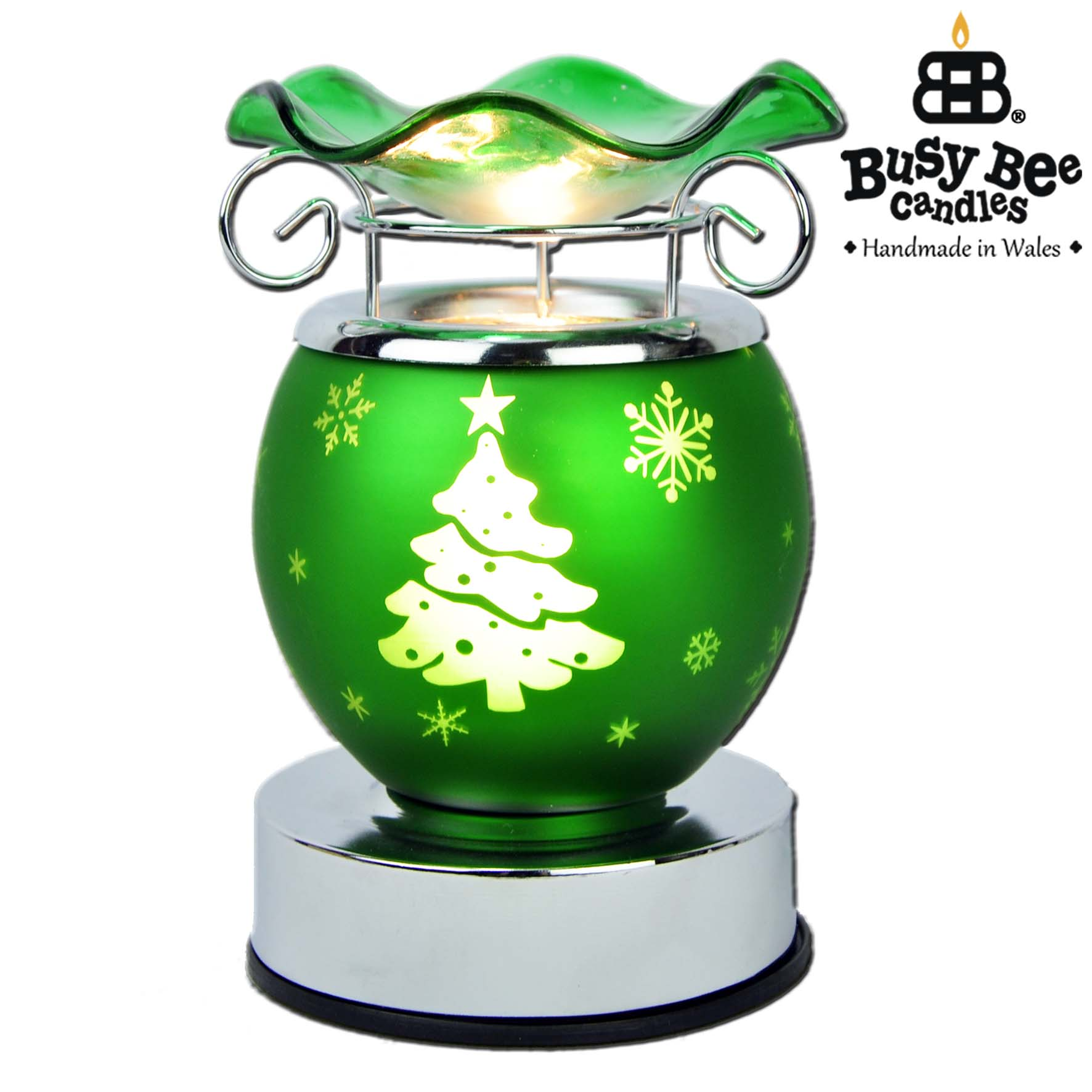 Christmas Tree Christmas Electric Wax Tart Warmer By Busy
