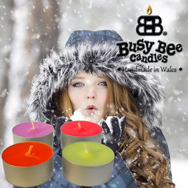 Winters Breath Scented Tea Lights