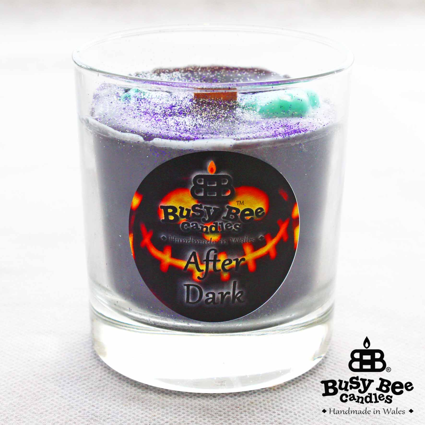 After Dark Halloween Crackling Wick Scented Candle