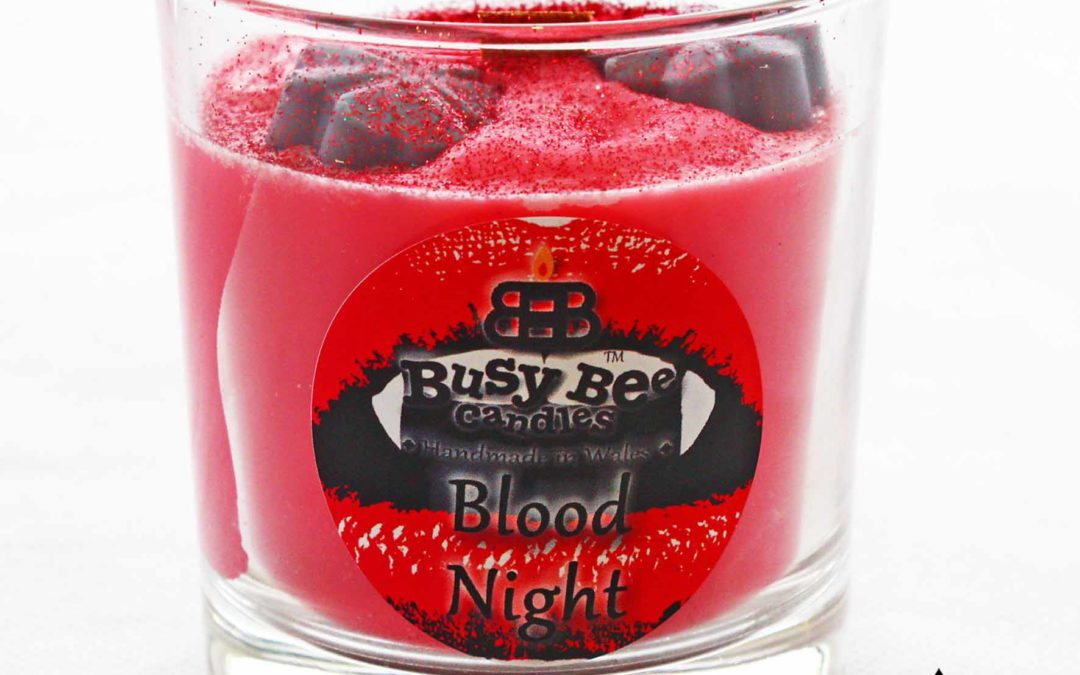 Blood Night Halloween Crackling Wick Scented Candle