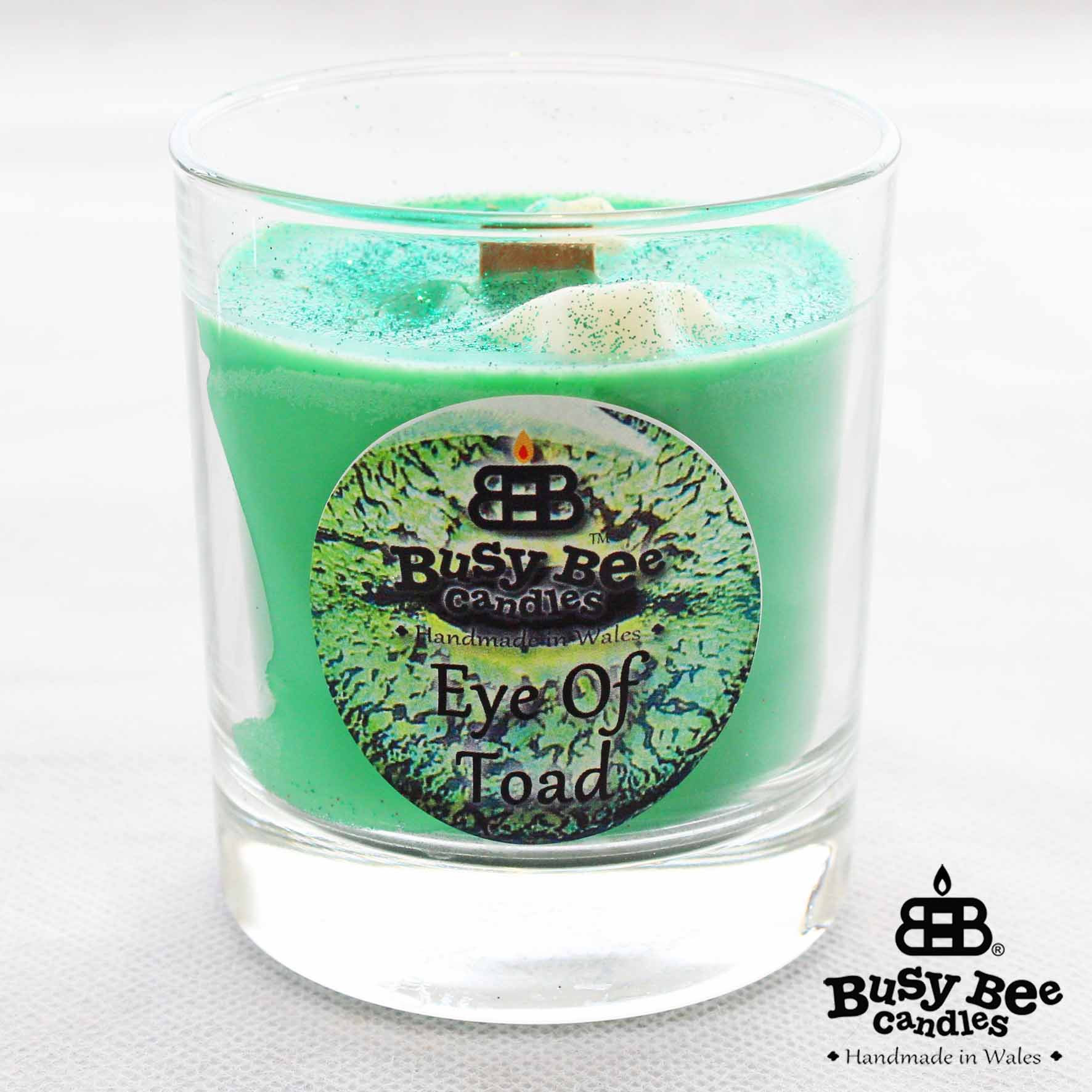 Eye Of Toad Halloween Crackling Wick Scented Candle