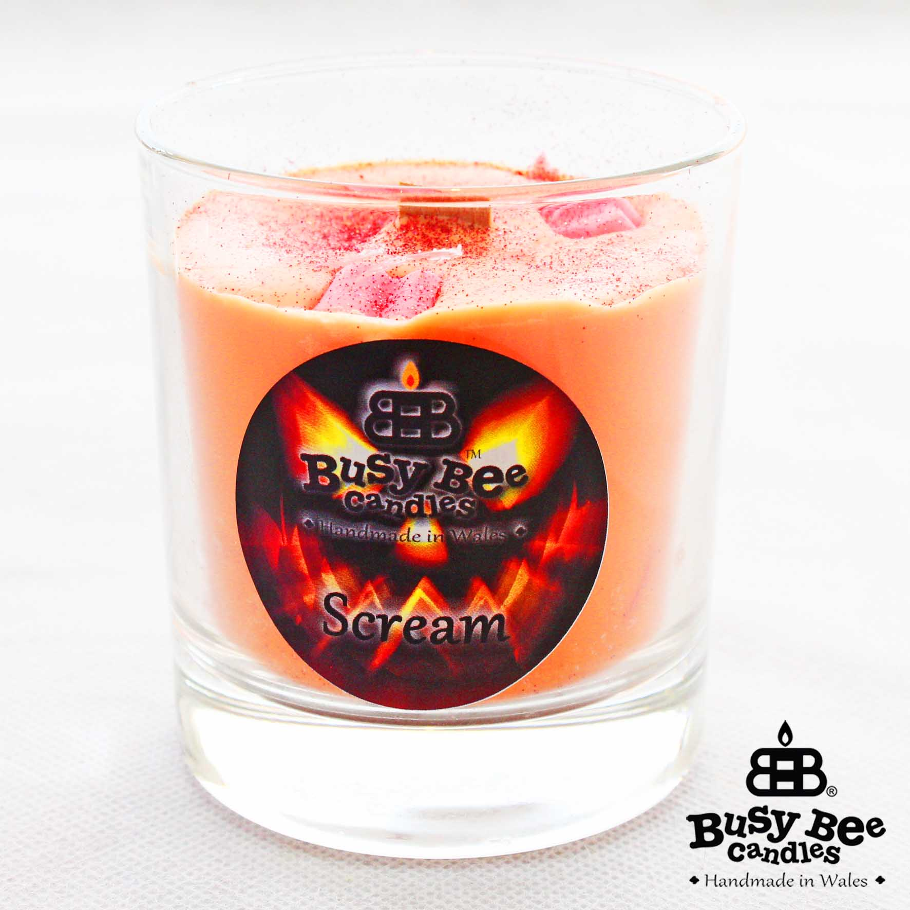 Scream Halloween Crackling Wick Scented Candle