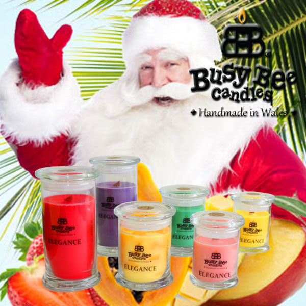 Caribbean Christmas Elegance Scented Candles