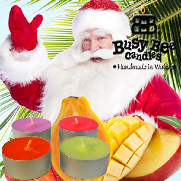 Caribbean Christmas Scented Tea Lights