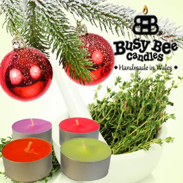Christmas Thyme Scented Tea Lights