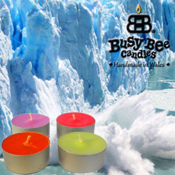 North Pole Scented Tea Lights
